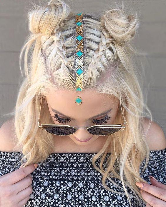 модные укладки волос