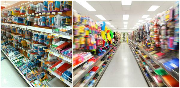 супермаркет канцтовары фото