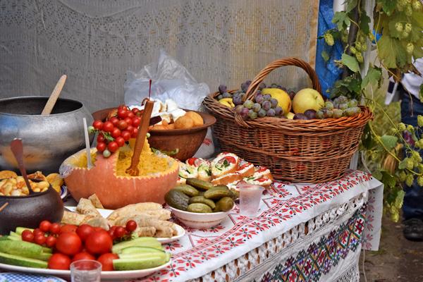 Фестиваль Борща и местных блюд в Тернопольской области