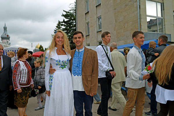 Гости Борщева на фестивале