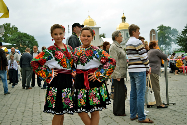 Вышиванки на Борщевском Фестивале