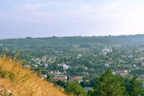 Вид с горы Бона