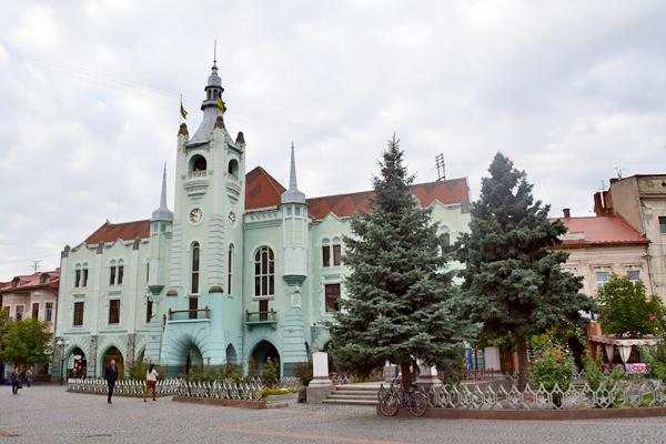 Городская ратуша в Мукачево
