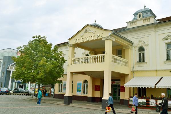 Драматический театр в Мукачево