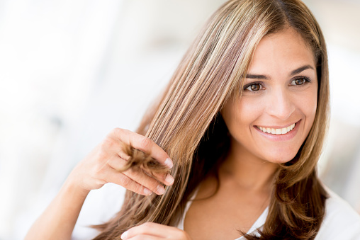 уход за волосами - фото