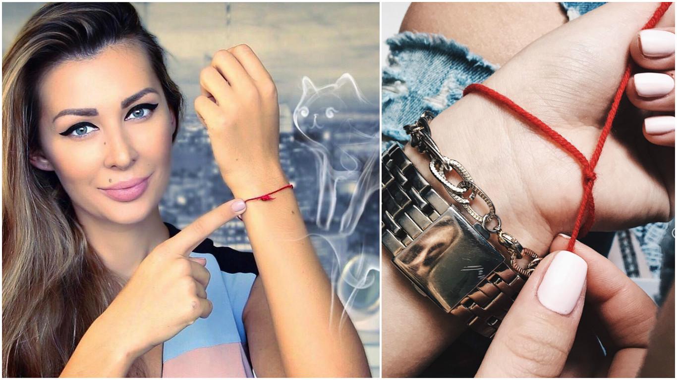 Красная нить на запястье - как завязывать и как носить