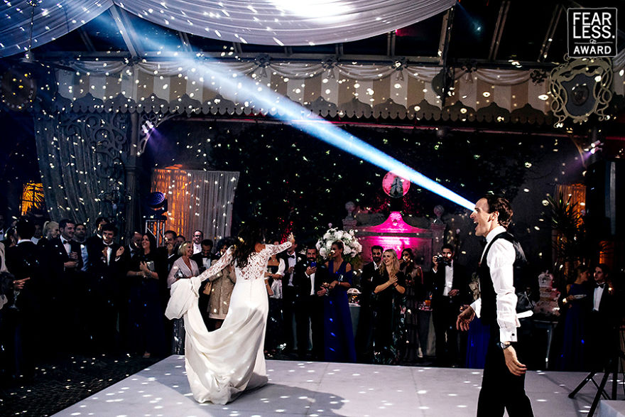 эффектная свадьба