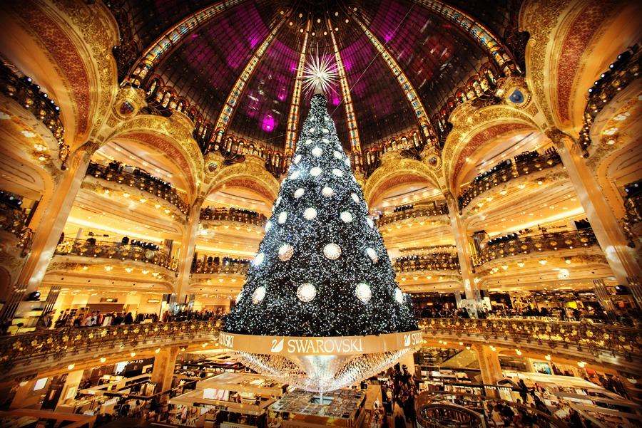 Дух Рождества: самые красивые новогодние елки в мире