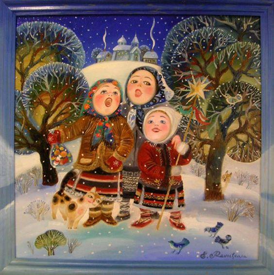 Колядки на Рождество 2018 на украинском и русском языке
