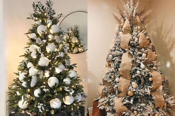 Как украсить елку hand-made