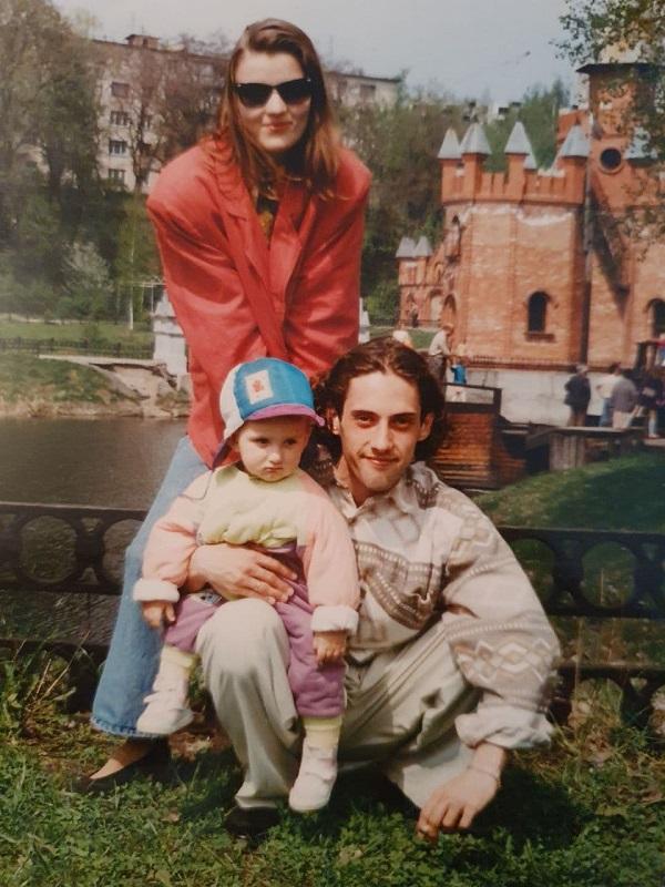 Дима и Елена Коляденко семейные фото