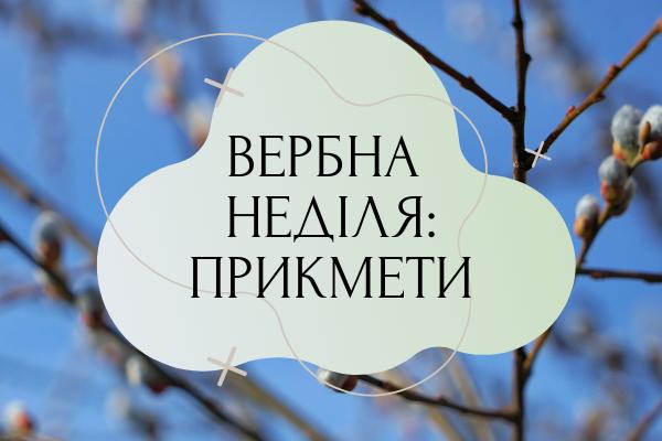 Вербна неділя — прикмети, що можна і що не можна робити